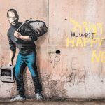 The Son of a Migrant from Syria di Banksy